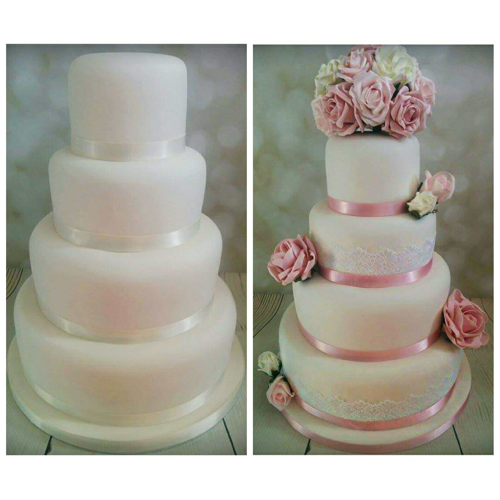 Decorate your own wedding cake!