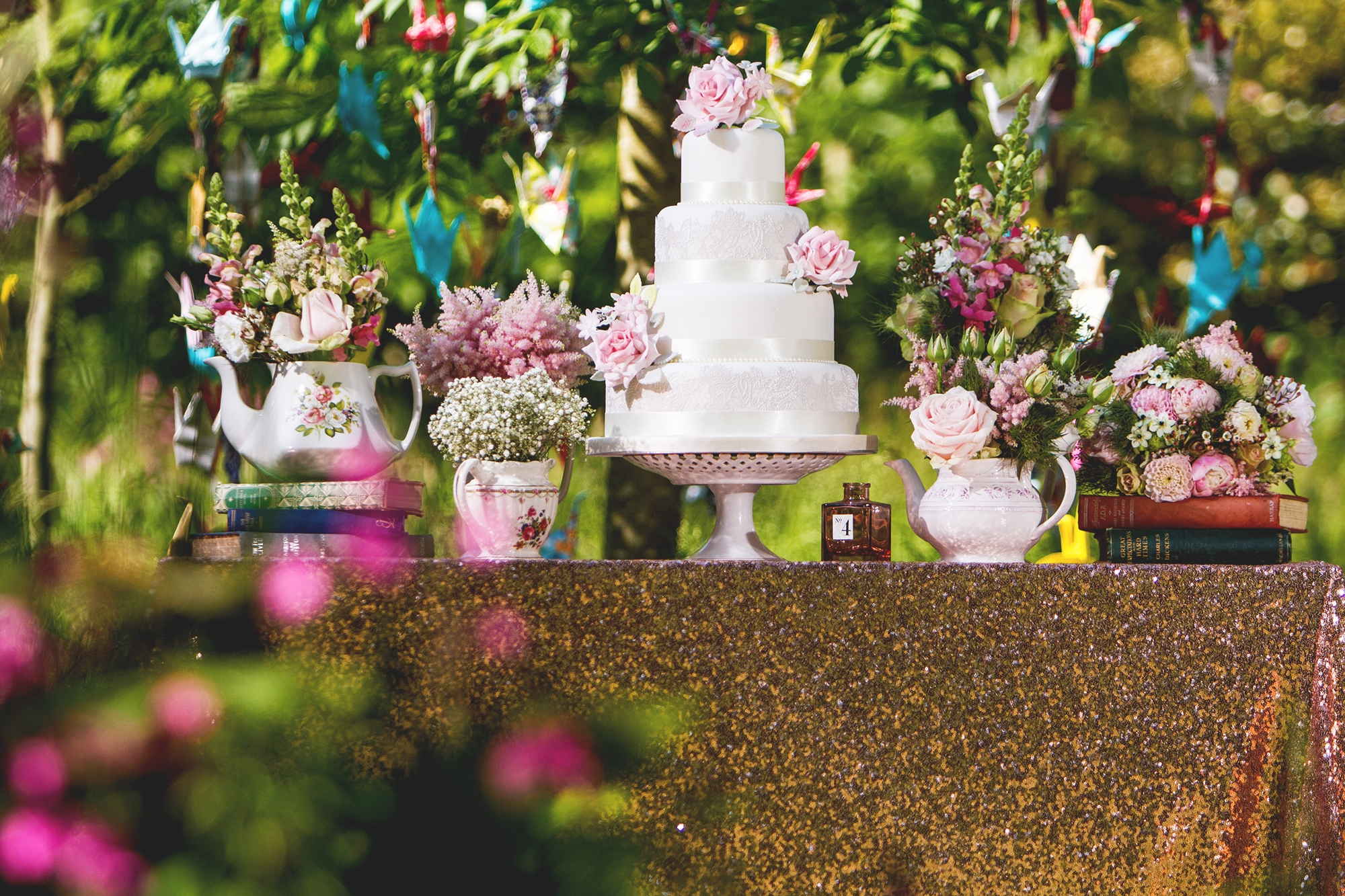 Champagne weddings on a lemonade budget: Creating maximum effect with a minimal cost