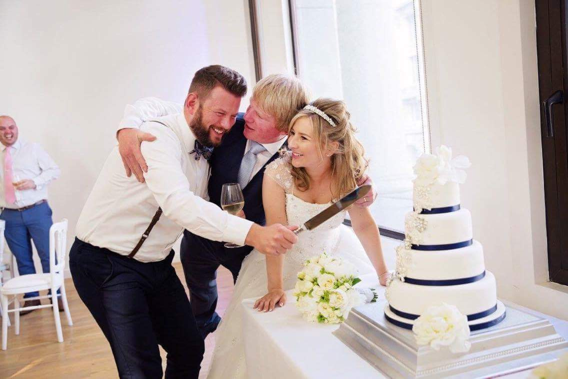 Something old, something new: Cakes, flowers and photography at The Venue, Royal Liver Building