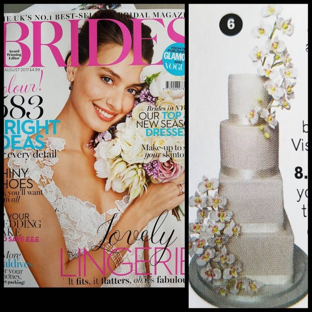 Our sugar orchid cake is in the JulyAugust issue ofhellip